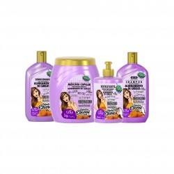 Pack Gota Dourada Anti-Frizz